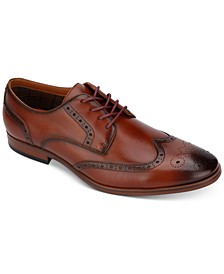 Vitale Lace-Up Wingtip-Toe Oxfords