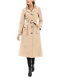 London Fog Petite Maxi Raincoat