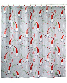 Gnome Walk Shower Curtain