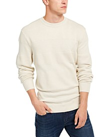 Men's Checked Logo Sweater, Created For Macy's