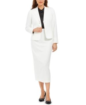 Retro Skirts: Vintage, Pencil, Circle, & Plus Sizes Le Suit Column Skirt Suit $89.99 AT vintagedancer.com