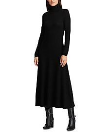 Lauren Ralph Lauren Wool Turtleneck Dress