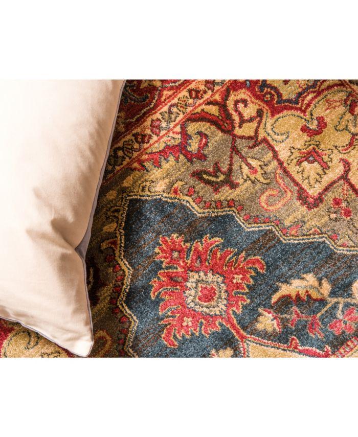 Bridgeport Home Harik Har9 Navy Blue Area Rug Collection & Reviews - Rugs - Macy's