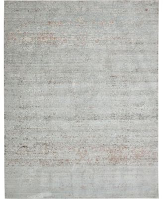 Malin Mal8 Gray 5' x 8' Area Rug