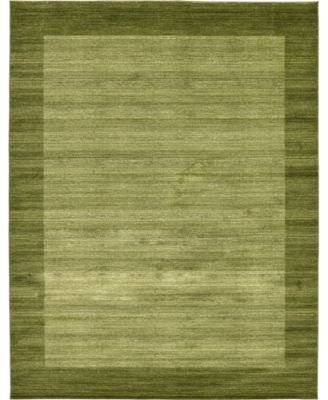 Lyon Lyo4 Light Green 6' x 9' Area Rug