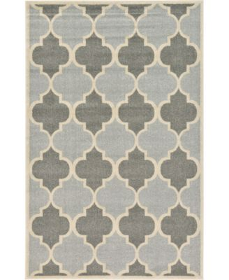 Arbor Arb7 Light Gray 8' x 8' Round Area Rug