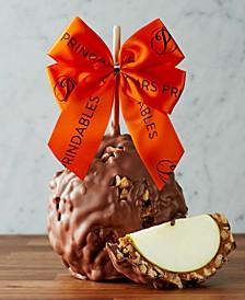 Autumn Ribbon Jumbo Caramel Apple - Milk Chocolate