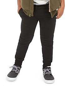 Moto Jogger Pants, Little Boys, Created for Macy's