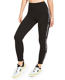 Calvin Klein Performance Logo High-Waist Leggings