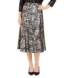 Paneled Gel-Dot Skirt, Created For Macy's
