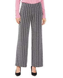 Metallic Textured Pull-On Pants, Created For Macy's