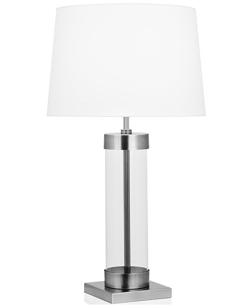 Robert Abbey Lighting Dan Cylinder Gl Table Lamp