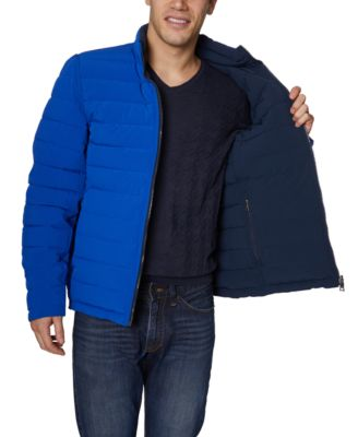 Nautica Mens Stretch Reversible Midweight Jacket