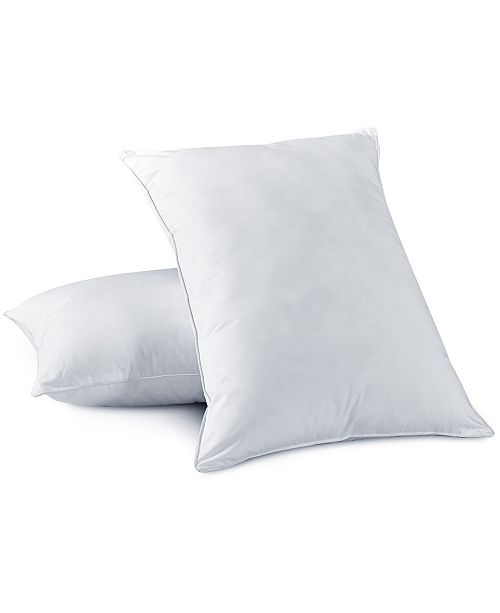 UNIKOME 2 Pack Feather and Down Bed Pillows, Size- Standard/Queen