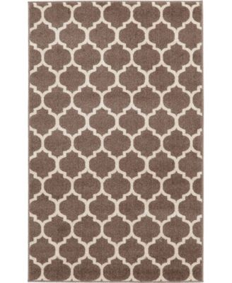 Arbor Arb1 Light Brown 6' x 9' Area Rug