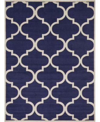 Arbor Arb3 Navy Blue 5' x 8' Area Rug