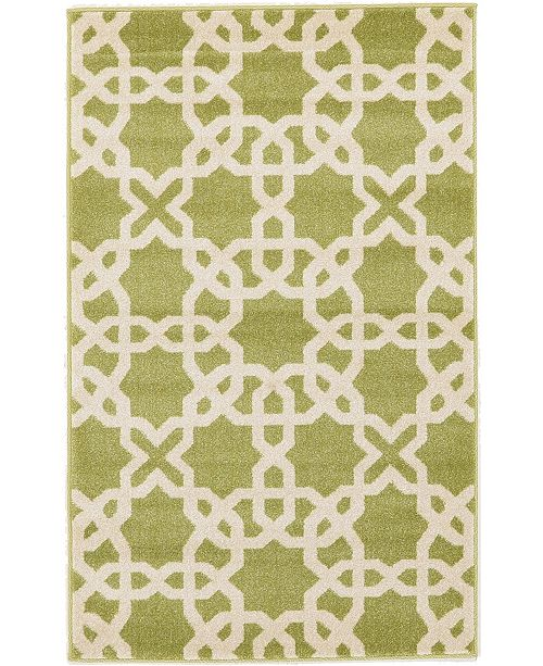Bridgeport Home Arbor Arb5 Green Area Rug Collection