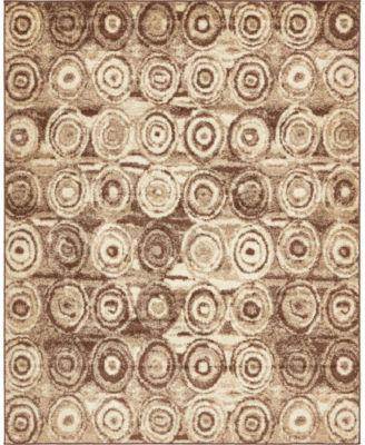 Jasia Jas02 Tan 5' x 8' Area Rug