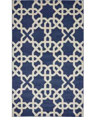 Arbor Arb5 Navy Blue 9' x 12' Area Rug