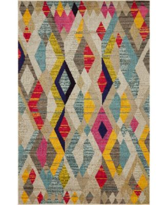 CLOSEOUT! Arcata Arc6 Multi 4' x 6' Area Rug