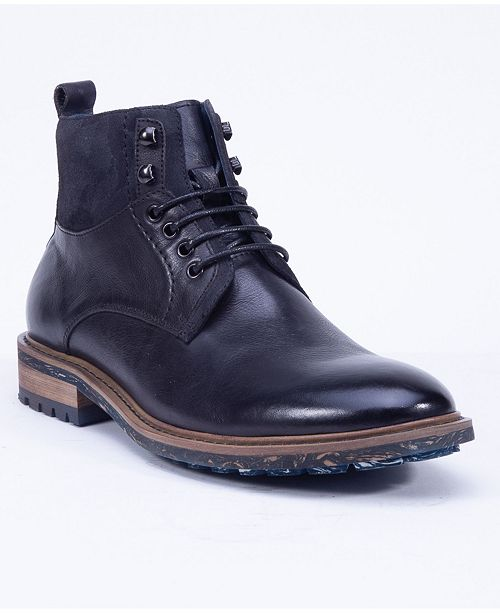 English Laundry Men's Leather Lace Up Boot