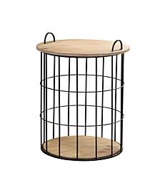 Arborfield Basket Storage Table