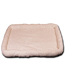 "Ultra Soft Sherpa Bed 48""x30"", Crate Cushion"
