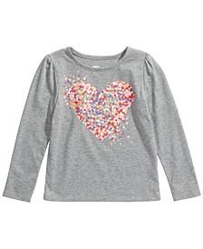 Toddler Girls Heart T-Shirt, Created For Macy's