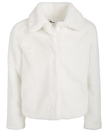Big Girls Cony Faux Fur Jacket