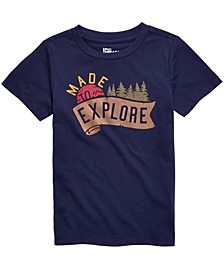 Toddler Boys Made To Explore T-Shirt, Created For Macy's