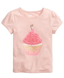 Epic Threads Toddler Girls Tulle Cupcake T-Shirt, Created For Macy's