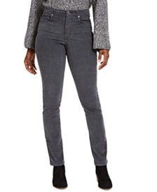 Style & Co Corduroy Tummy-Control Pants, Created for Macy's