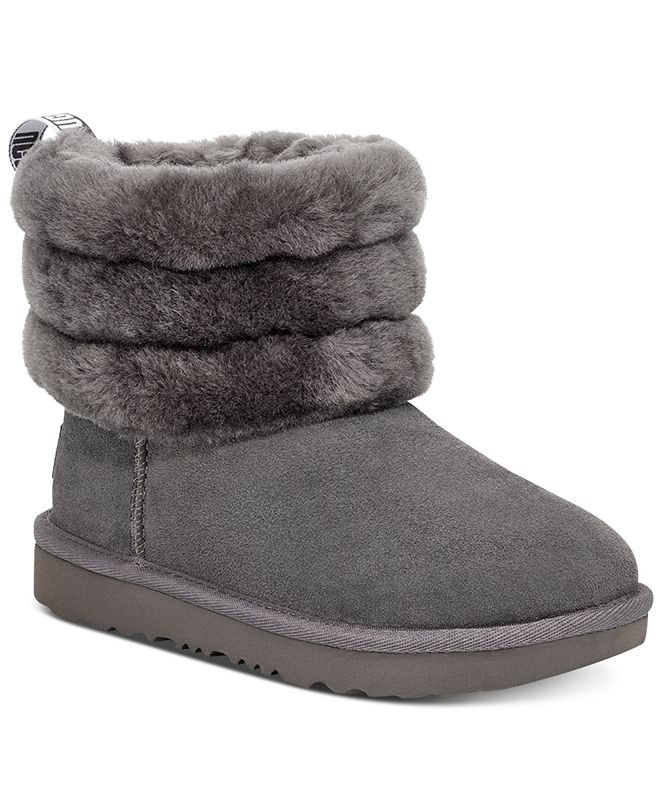 UGG® Little & Big Girls Fluff Mini Quilted Boots