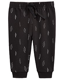 Baby Boys Lightning Bolt Joggers, Created For Macy's