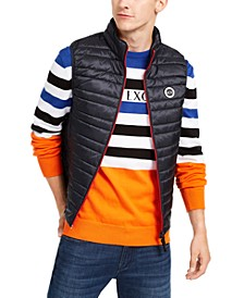 Men's Quilted Full-Zip Puffer Vest