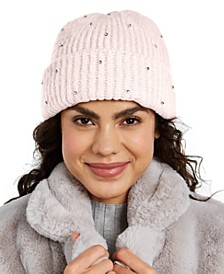 INC Allover Gemstone Beanie, Created for Macy's