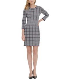 Calvin Klein Crewneck Sweater Dress