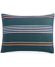 CLOSEOUT! Lodge Yarn Dye Standard Sham, Created for Macy's