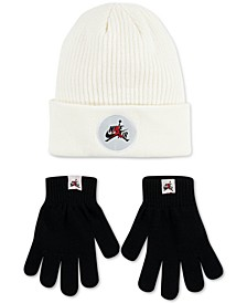 Big Boys 2-Pc. Jumpman Classic Beanie & Gloves Set