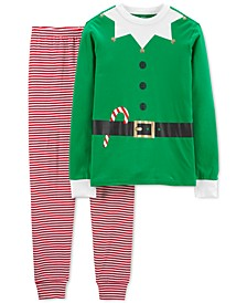 Adult Unisex Family Cotton Elf Pajamas Set
