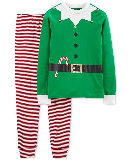 Carter's Adult Unisex Family Cotton Elf Pajamas Set