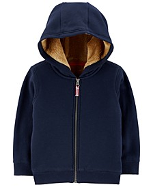 Baby Boys Full-Zip Fleece Hoodie