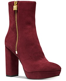 Frenchie Platform Booties