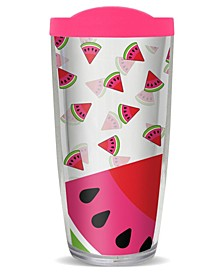 Watermelon Burst Double Wall Insulated Tumbler, 16 oz