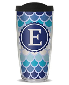 Scallop Pattern - E Double Wall Insulated Tumbler, 16 oz