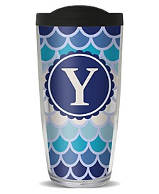 Scallop Pattern - Y Double Wall Insulated Tumbler, 16 oz