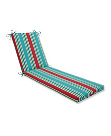 Aruba Stripe Chaise Lounge Cushion