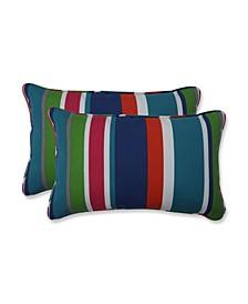 St. Lucia Stripe Rectangular Throw Pillow, Set of 2