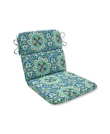 Lagoa Tile Pool Rounded Corners Chair Cushion