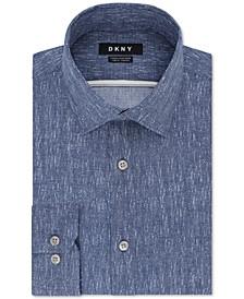 Men's Slim-Fit Stretch Kaihara Dress Shirt